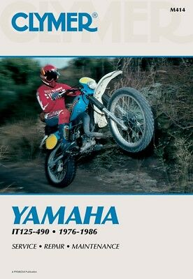 Clymer MOTORCYCLE Offroad Manuals M414