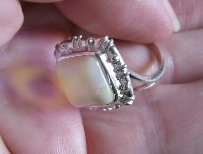True Paranormal Marid Djinn Demon Ring (Sheriq'n Network) Pure White Magic Power