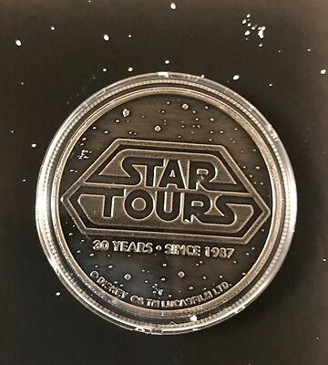 D23 Expo 2017 Disney Parks Star Wars Star Tours 30th Anniversary Coin Brand New