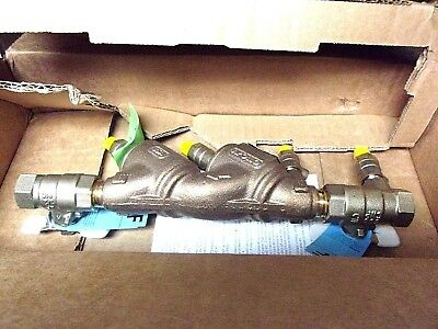 "Apollo 1/2"" Double Check Backflow Preventer DCLFA4A-F12 BNIB"