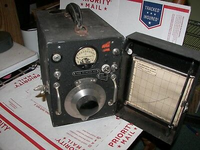 U.S. Army Signal Corps BC-906-D Frequency Meter  Philco Corp.