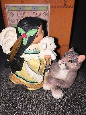 "Friends of the Feather "" Peace on Earth""  Limited Edition 1998 Enesco 440779"