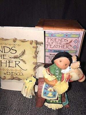 "Friends of the Feather 1997 ""Ready to Ride"" Child on Rocking Horse 326402"