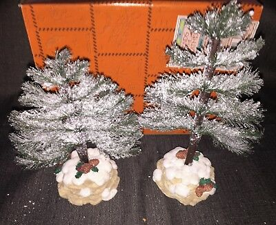 Friends of the Feather 1998 Set of 2 Christmas Tree Figurines 474843