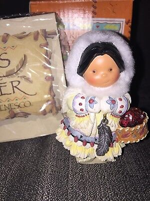 "Friends of the Feather 1999 ""January"" Figurine 677523"