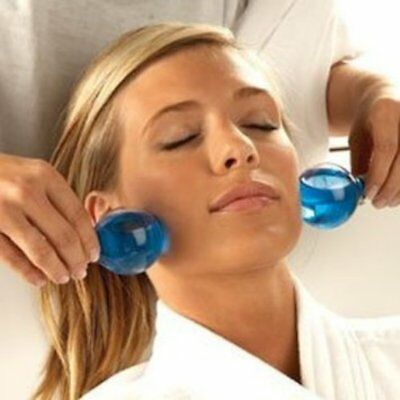 Allegra Magic Globes Facial Soothing Beauty Tightening Cooling Headache Relief