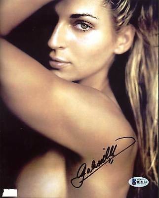 Gabrielle Reece Playboy Sexy Authentic Signed 8X10 Photo Autographed BAS #B73173
