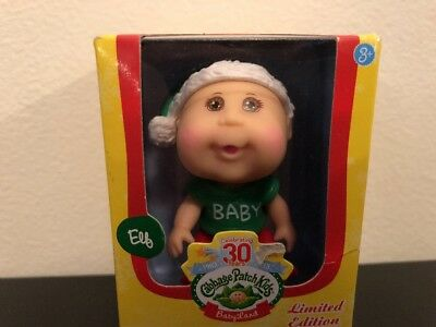 Cabbage Patch Kids babyland mini dolls holiday series Elf  NIB limited edition