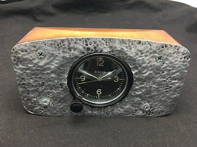 Vintage Running WWII US Army Air Corps Type A-11 Aircraft Cockpit Clock