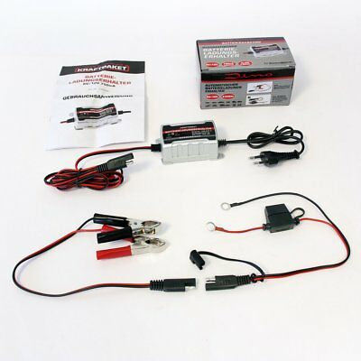 Dino Power Pack 136303 6/12V Car Motorcycle Battery Charger Trickle Charger