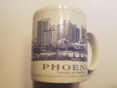 Starbucks 2006 Phoenix Valley Of The Sun Architectural City Coffee Cup 18 oz
