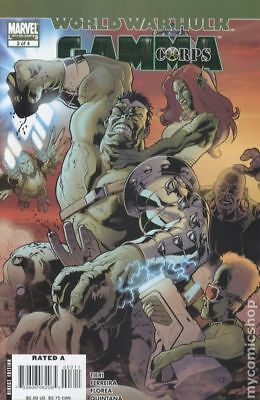World War Hulk Gamma Corps #3 2007 FN Stock Image