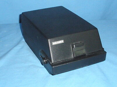 RC-24 ROLODEX Card File - With Cards & Case - Carry Handle - 350+ Cards
