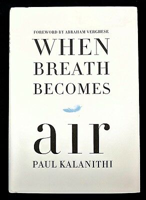 When Breath Becomes Air ~ Paul Kalanithi HC/DJ