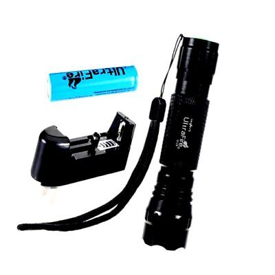 UltraFire Wf 501b Cree Xml T6 Cree Led Flashlight with Battery and Charger.