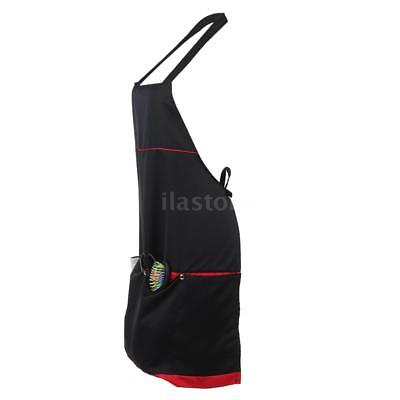 Professional Hairdressing Barber Apron Cape for Barber Hairstylist BLACK O8B0