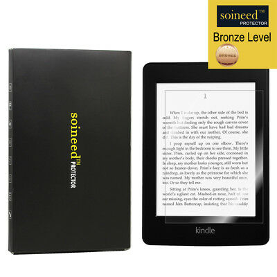 """SOINEED Tempered Glass Screen Protector For Amazon Kindle Paperwhite E-reader 6"""""""