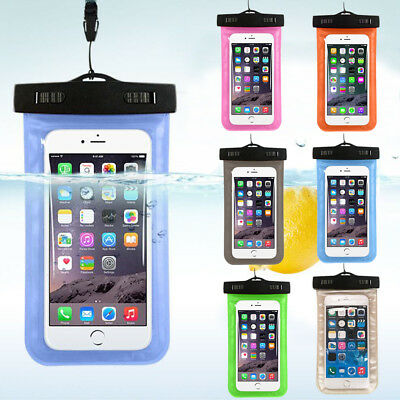 Waterproof Underwater Float Pouch Bag Pack Case For Cell Phone iPhone 7 7Plus 8