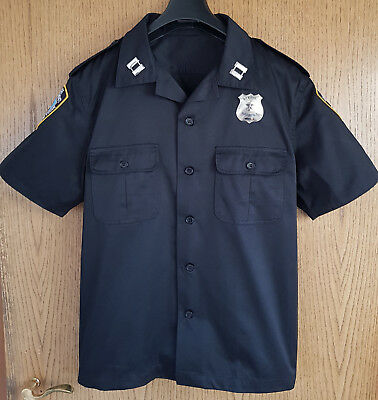 Police Uniform Hemd, NEU, NYPD, Cop Kostüm, LAPD, New York, Department S/M/L/XL
