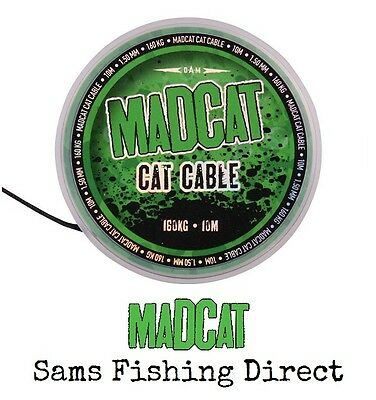 Mad Cat Cat Cable 10m 160kg Catfish Hooklink