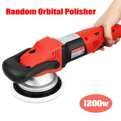 "6"" Electric 6 Variable Speed Car Polisher Buffer Waxer Sander Detail Boat 220V"