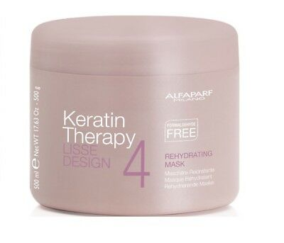 ALFAPARF LISSE DESIGN Keratin Therapy Rehydrating Mask - 500 g