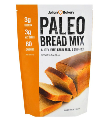 New Julian Bakery Paleo Protein Bar Almond Gluten Free Body Daily Dietary Care