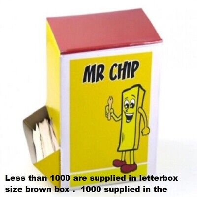 Wooden Chip Forks Parties Bbq's Events Work Chip Shop 25, 50, 100, 500, 1000