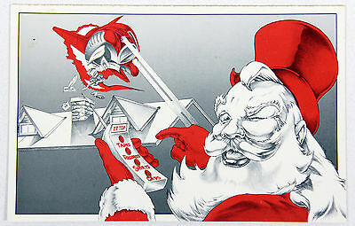 ZZ Top 1981 Original & Unused 'Merry Christmas' Card