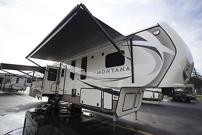 Winter Special on this 2018 Montana 3950BR 5th Wheel Camper RV