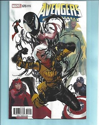 Avengers #675 Vf+* Party Variant Cover By Daniel Acuna