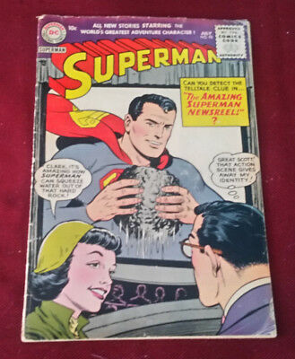 Superman #98 1955 DC Comic Golden Age Art by Boring, Lois Lane Cover VG