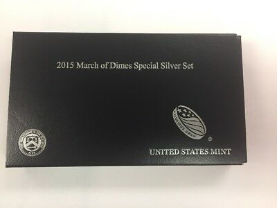 2015 March Of Dimes Special Silver Set.