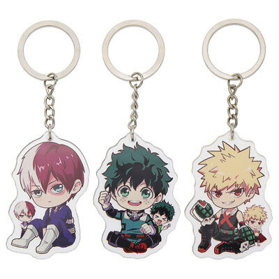 1PC CUTE ANIME New Boku Key Ring Keychain Cartoon Gifts