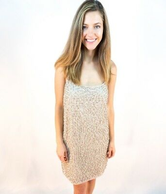 Needle And Thread Sequin Hand Made Dress