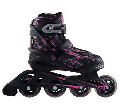 Roces Women's Tattoo Inline Skates , Black/Pink. 400774-00002-10