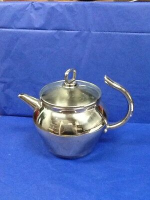 Heritage Princess House 13/10 Stainless Steel 2QT Whistling Teapot