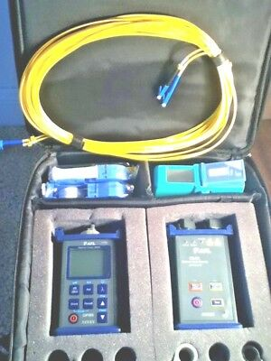 AFL Noyes SMLP 5-5 OPM5-2D & OLS4 SM / MM Fiber Optic Test Set SMLP5-5