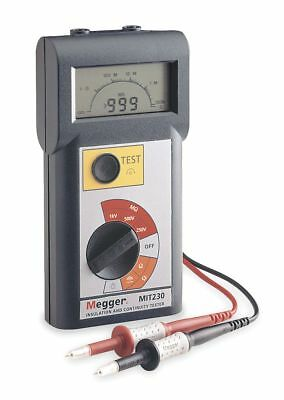 Megger Digital LCD Battery Operated Megohmmeter; Insulation Resistance Range: