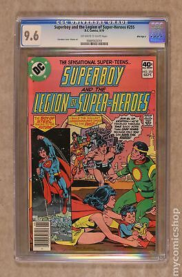 Superboy (1st Series DC) #255 1979 CGC 9.6 Mile High II 0068563018