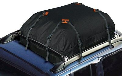 SUV Cargo Carrier Bag Container Storage Car Vehicle Folding Travel 15 Cubic Ft