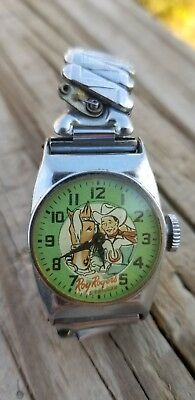 Vintage Roy Rogers and Trigger Watch