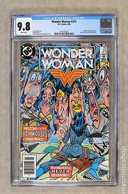 Wonder Woman (1st Series DC) #315 1984 CGC 9.8 1497187021