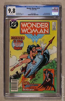 Wonder Woman (1st Series DC) #319 1984 CGC 9.8 1497131006