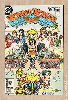 Wonder Woman (2nd Series) 1A 1987 NM 9.4