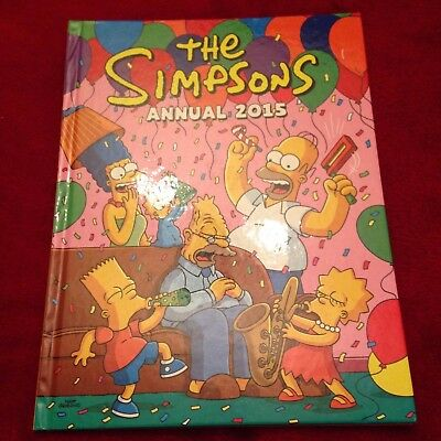 The Simpsons Annual 2015 Titan Books As New