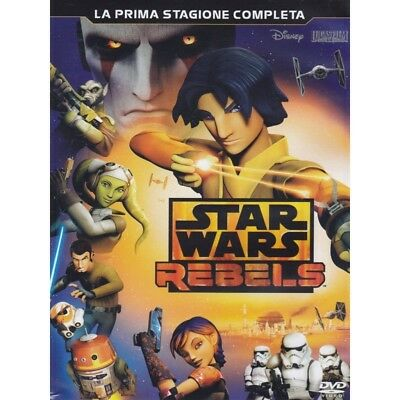 Star Wars - Rebels - Stagione 01 (3 Dvd) Dvd 8717418461058