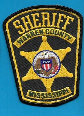 Warren County Mississippi Sheriff Dept Eagle Wc So Sd Ms Local State