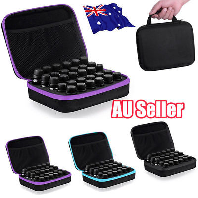 30 Bottle Essential Oil Case Carry Holder Storage Aromatherapy Hand Bag ON