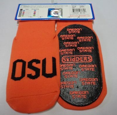 Skidders Toddlers No Skid Oregon State Socks NWT Sz 24 Months